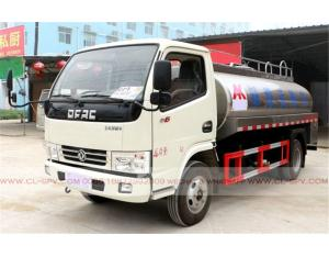 Dongfeng 6000 liters Fresh milk transportation truck