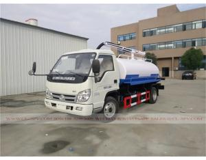 Foton 2000 liters fecal suction truck
