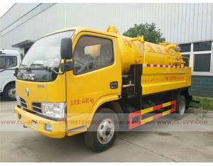 Dongfeng sewage suction and cleaning truck
