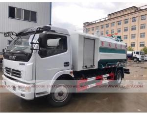Dongfeng sewage suction truck with cleaning function