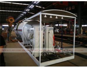 25000 liters LPG propane storage tanker to Nigeria