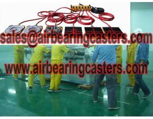 Air Bearings and Casters moving armamentarium