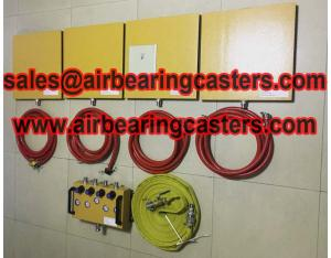Air casters modular can be added or removed