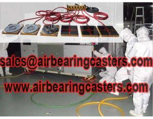 Modular air casters rigging systems factory
