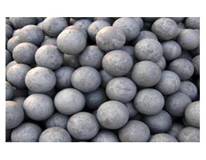 Medium chrome casting grinding ball
