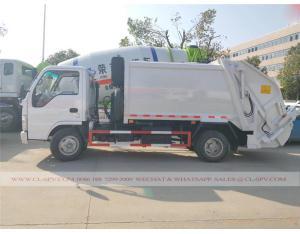 Isuzu 5000 liters compression garbage truck