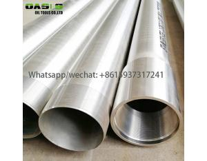 Austentic Stainless Steel AISI304L Water Well Casing for Water Well Drilling