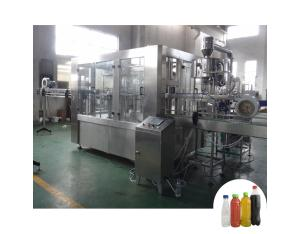 Automatic 3 in 1 small bottle beverage filling machine