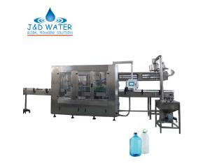 Automatic 3-10L bottle beverage washing filling capping machine