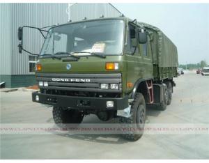 Dongfeng 4 doors 6×6 military crew truck
