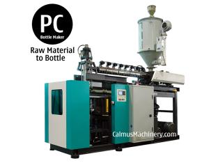 20 Litre PC Bottle Making Polycarbonate Bottle Blow Molding Machine