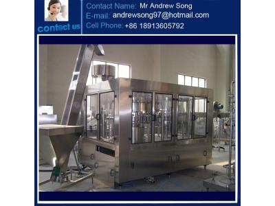 Complete Carbonated Soft Drink Production Line Filling and Screw Capping Machine