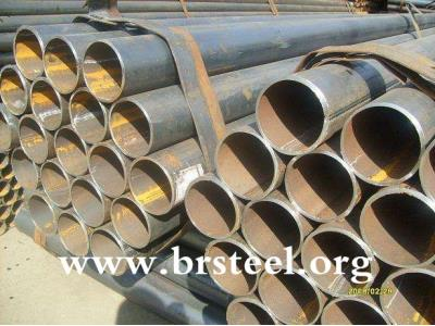 erw black pipes and tubes in  packaging tubes