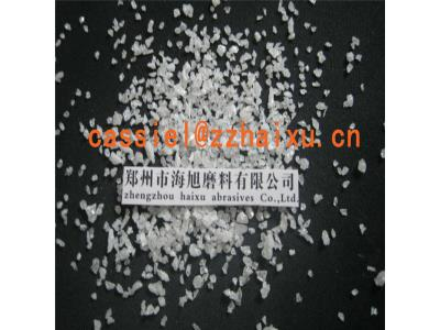 white fused alumina for refractory media