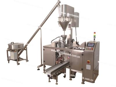 Automatic Premade Bag Powder Filling Packaging Machine