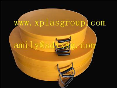 Crane outrigger pads.stabilizer jack pads,nylon outrigger pads,polyethylene outrigger pads