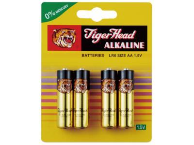 tigerhead Brand Mercury-Free Alkalina Batteries,maintenance-free series of automotive batteries,Tige
