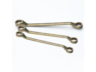 non sparking double offset wrench ring spanner