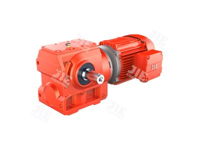 JRTS Series Helical-Worm Gearmotors