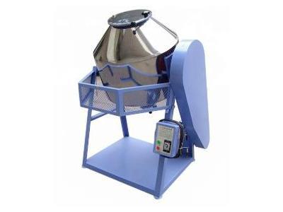 Rotary Plastic Color Powder Drum Mixing Equipment