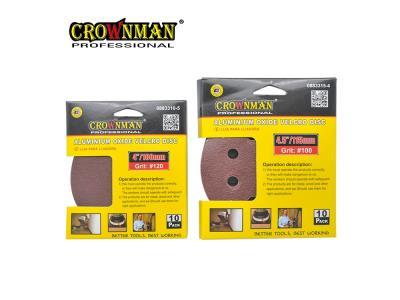 CROWNMAN Velcro Sanding Disc