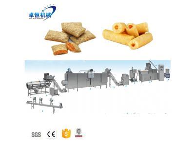 120-250kg/h core filled puff snack machine line