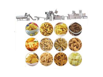 120-250kg/h Frying snack food production line