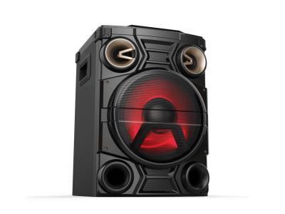 Party Bluetooth Speaker With EQ Adjustment/X-BASS/AUX IN/LED Display/Flashing Light/MIC