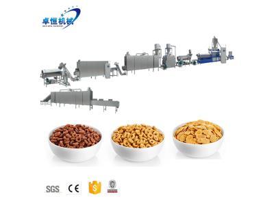150kg/h-500kg/h Breakfast Cereal Corn Flakes Production Line