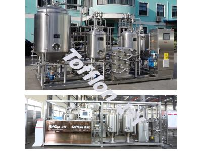 Craft beer processing line
