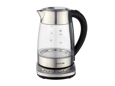 Temperature adjustable electric galss kettle