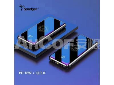 Spadger Wireless Power Bank SW500
