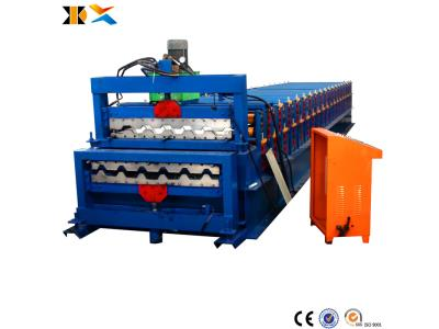 Used Double Layer Roll Forming Machine Wall Panel Tile Making Machine