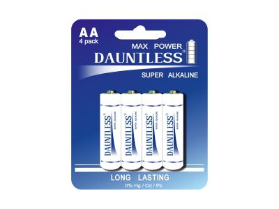 DAUNTLESS ALKALINE BATTERY LR6