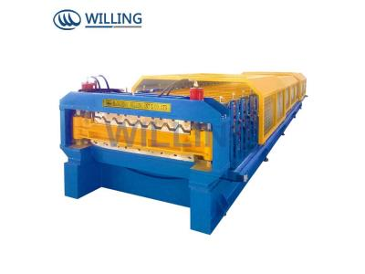 Double Layer tiles making production line roll forming machine