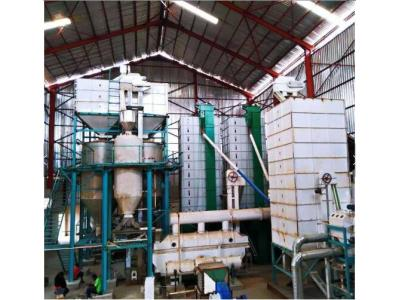 20TPD Automatic Complete Set Parboiling Rice Mill