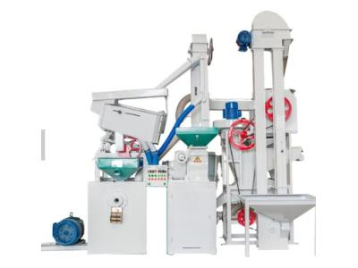 Complete Set Combined Rice Mill Milling Machine Plant