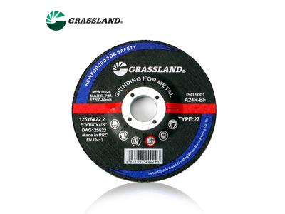 T27-125X6X22.23 METAL Grinding wheel  Red 3 Nets
