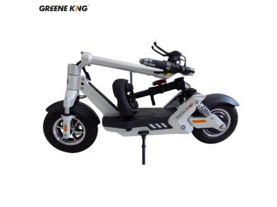 CE 50kms range magnesium alloy electric folding scooter for adults with seat S1