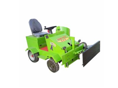 Electric car for silage collecting