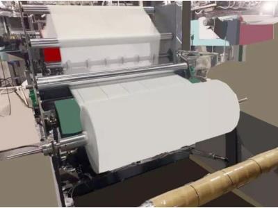 AF-600mm PP Melt Blown PP Non Woven Fabric Machine