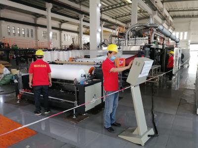 AF-1600mm PP Melt Blown PP Non Woven Fabric Machine , Capacity: 1500kgs per day