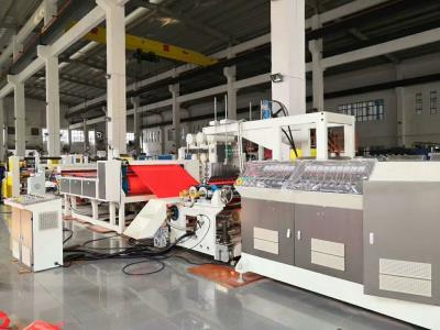 AF-1000mm PP Ribbon Film Extrusion Production Line For Gifts Packaging