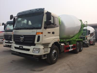 concrete mixer truck with 6*4 drive for 12 cubic meter