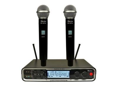 Diversity 2x100 channels UHF Wireless Microphone UH-16Pro