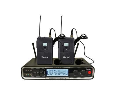 Diversity 2x100 channels UHF Wireless Lapel Microphone UH-16Pro-HH