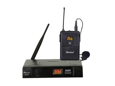 Digital Diversity 30 channels UHF Lapel Wireless Microphone UH-15-H