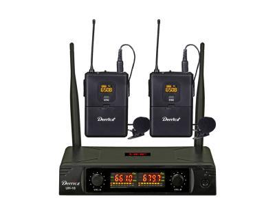 Digital Diversity 2x30 channels UHF Lapel Wireless Microphone UH-16-HH