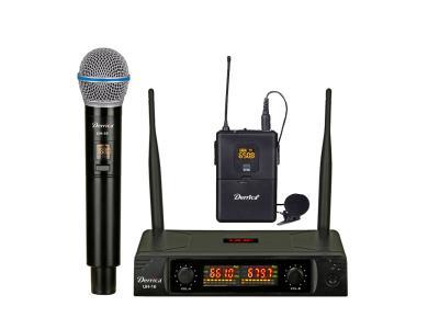 Digital Diversity 2x30 channels UHF Lapel Wireless Microphone UH-16-MH