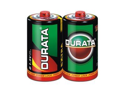 DURATA Zinc-Manganese Dry Battery Size D